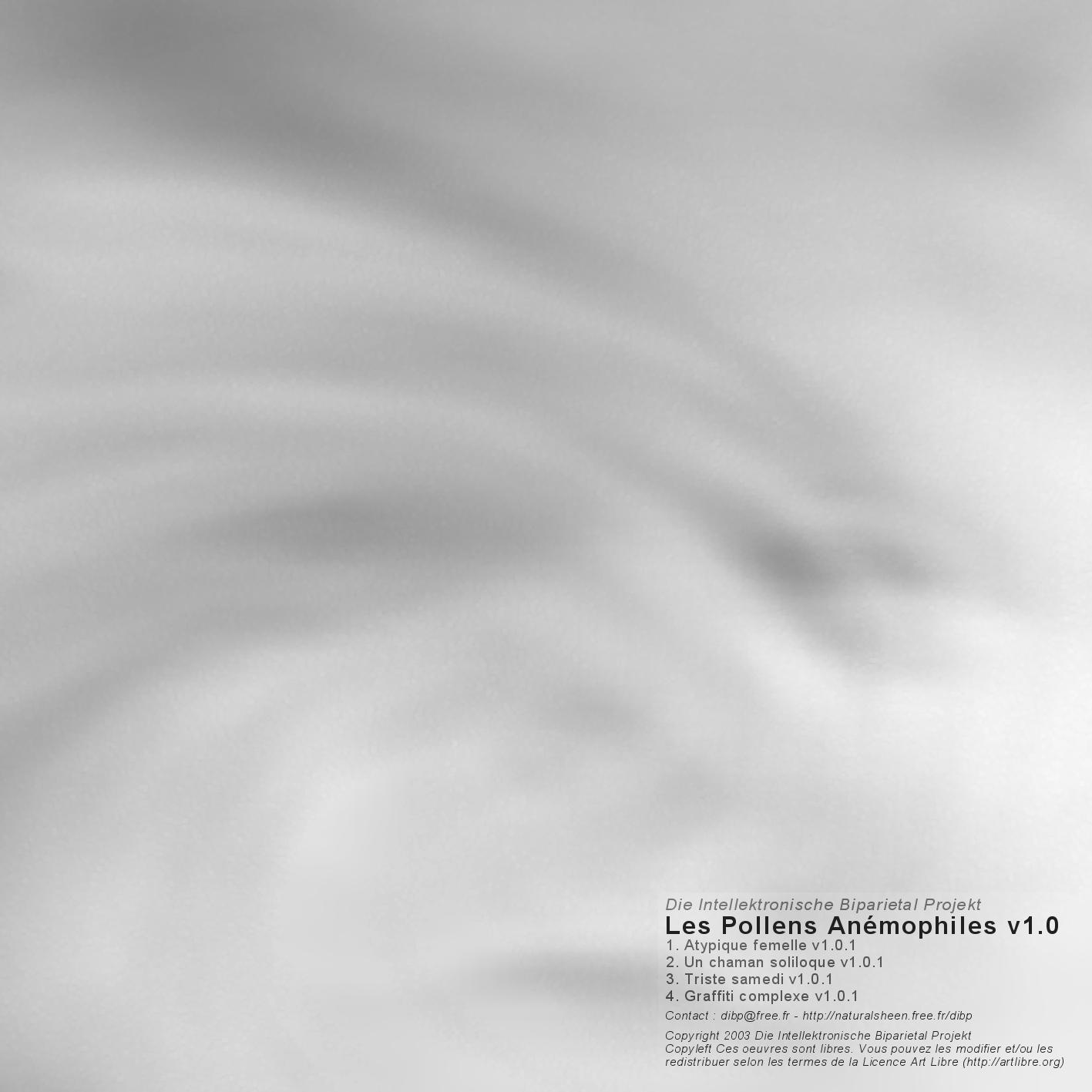 TTR001 – Les Pollens Anémophiles (Die IBP – 2004)